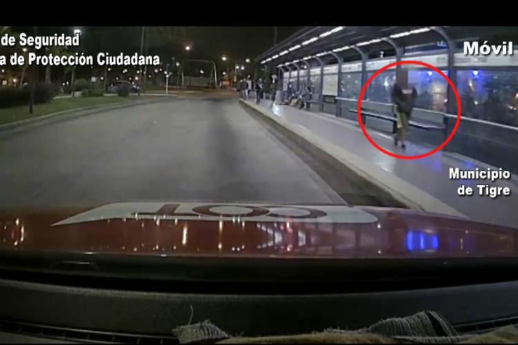 Cayó en Tigre un ladrón por robar pertenencias de un automóvil