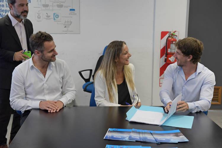 San Fernando, Pilar y AySA acordaron obras de ampliación de las redes cloacales