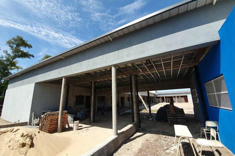 Avanza la construcción de la Escuela Secundaria N°36 en Benavídez