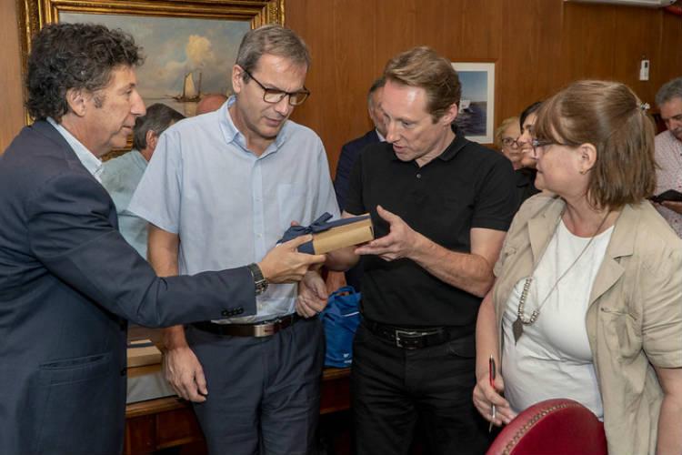 Municipales de Austria elogiaron los hospitales de San Isidro