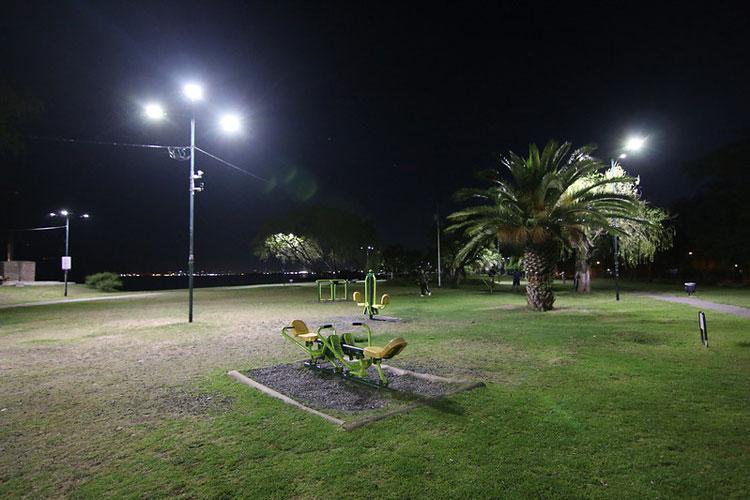 San Isidro cada vez más cerca del 100% LED