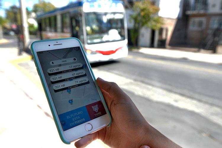 La aplicación Colectivos Tigre optimiza el tiempo y la seguridad de los vecinos