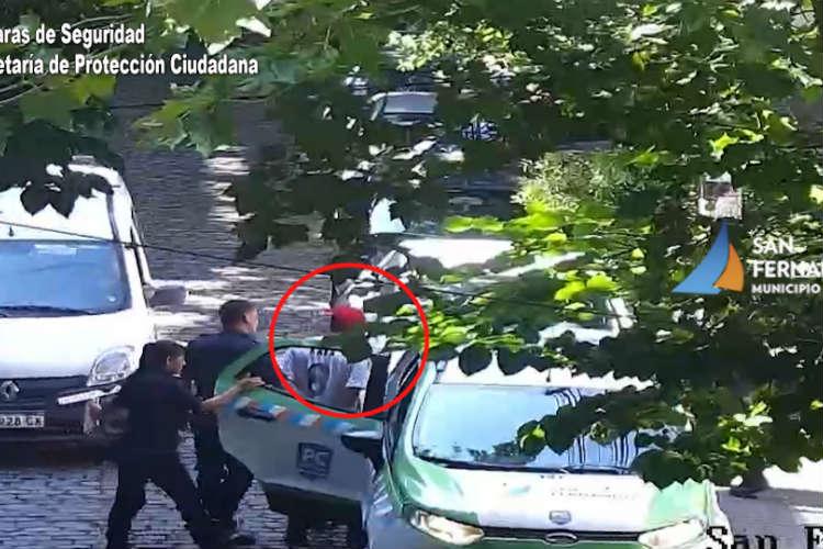 Ladrón de bicicleta detenido en San Fernando