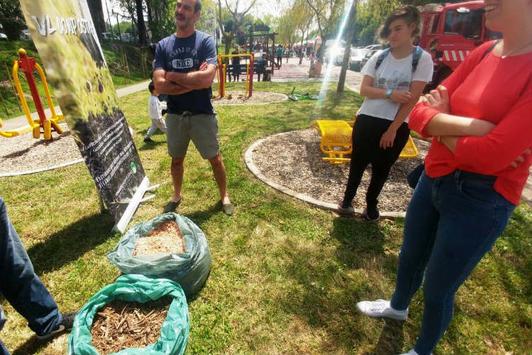 Jornada libre y gratuita de compostaje en Carapachay