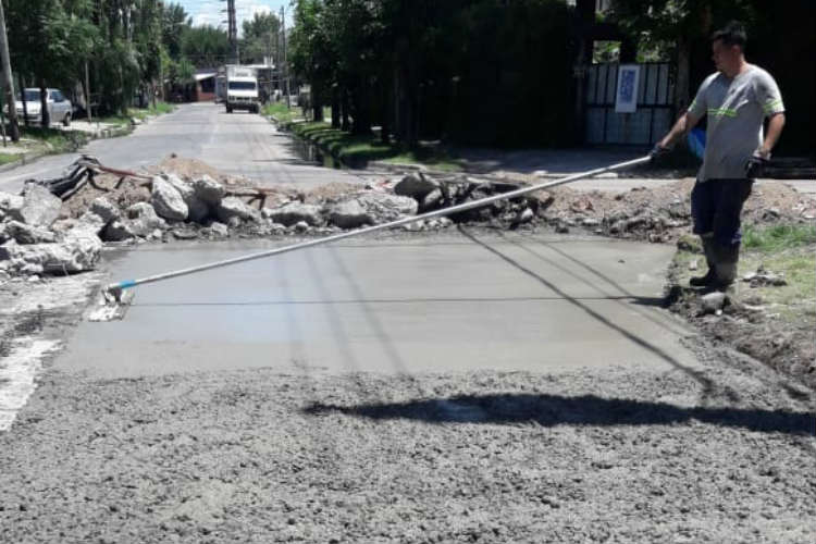 Tigre realiza mejoras en calles de Rincón de Milberg