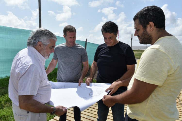 Jorge Macri recorrió nuevas obras del Paseo de la Costa