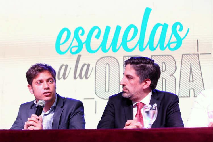 """Kicillof """"Queremos recuperar el lugar prioritario que debe tener la educación en la provincia de Buenos Aires"""""""