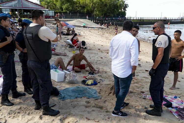 San Isidro: intensifican controles para evitar el consumo de bebidas alcohólicas en espacios públicos