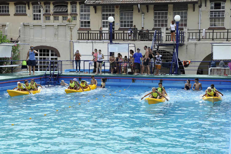 Las Escuelas Abiertas de Verano cerraron en Tigre con una jornada recreativa