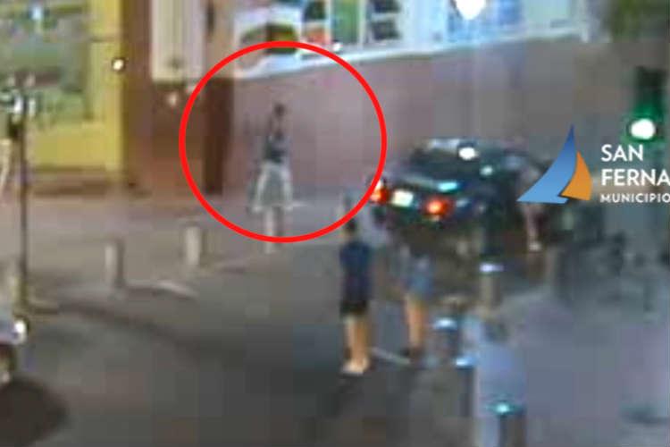 Robó en el Banco Provincia de San Fernando y fue detenido gracias a las cámaras de seguridad