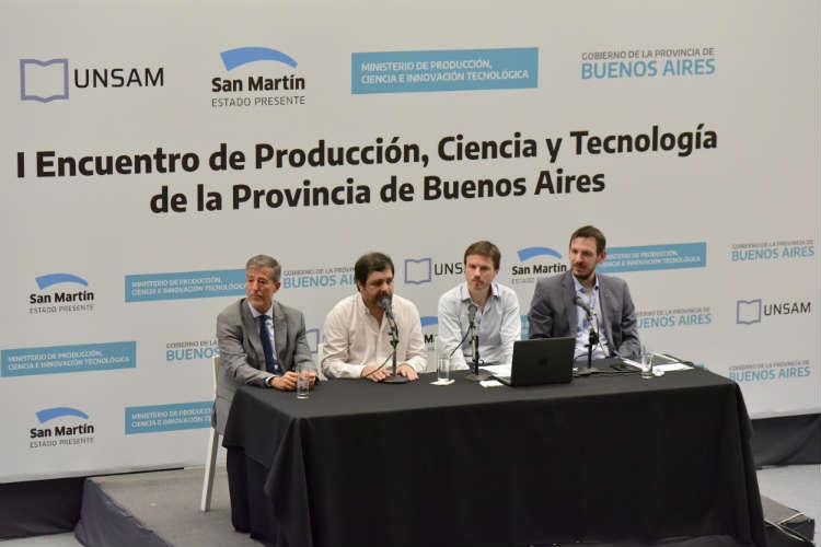 Primer Encuentro de Producción, Ciencia y Tecnología en San Martín