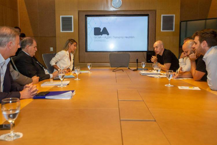 Malena Galmarini se reunió con Horacio Rodríguez Larreta para coordinar trabajos en conjunto