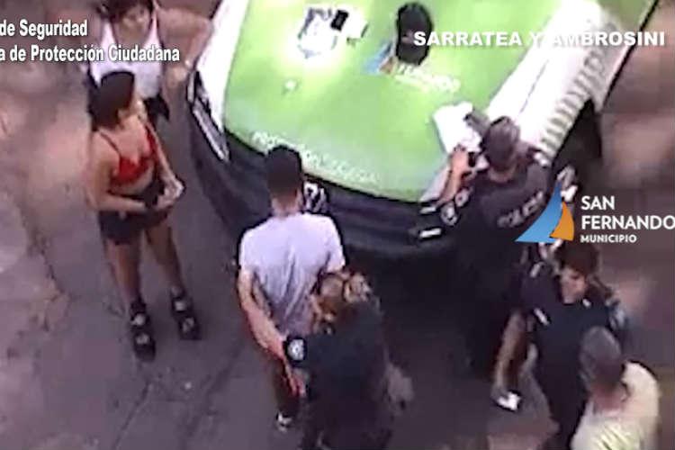San Fernando: Detectan a un auto con pedido de captura y detienen al conductor