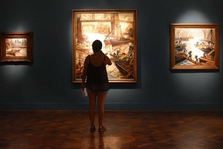 """El Museo de Arte Tigre exhibe """"Artistas de La Boca. Del puerto a la tradición del arte argentino"""""""