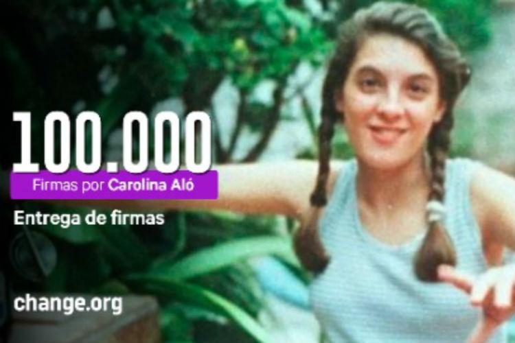 Edgardo Aló presenta 100.000 firmas para que Tablado siga preso