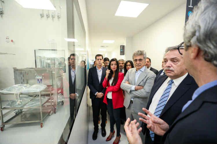 La directora de PAMI visitó la nueva planta de medicamentos biológicos de Garín