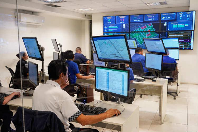 Centro de monitoreo de Vicente López