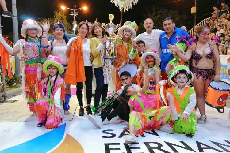 Alicia Aparicio confirmó que San Fernando cerrará el Carnaval Federal organizado por la Cámara de Diputados de la Nación