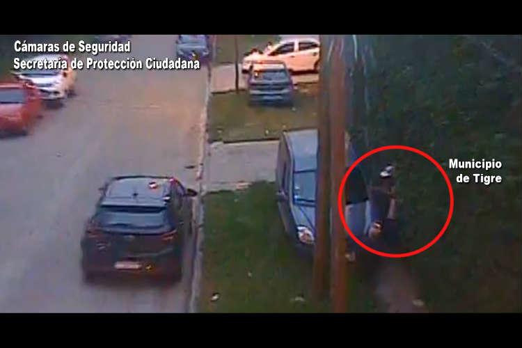 Detienen ABRECOCHES en TALAR partido de TIGRE, sobre la intersección de las calles Gelly y Obes y Paraguay.