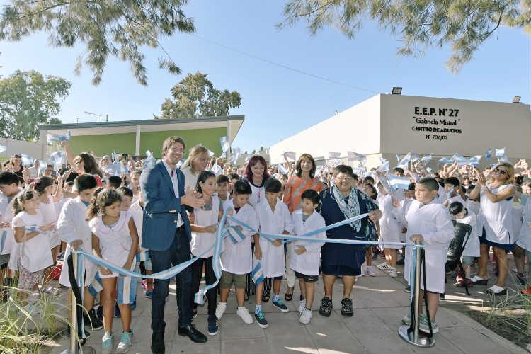 Juan Andreotti inauguró la segunda escuela provincial renovada por el Municipio de San Fernando