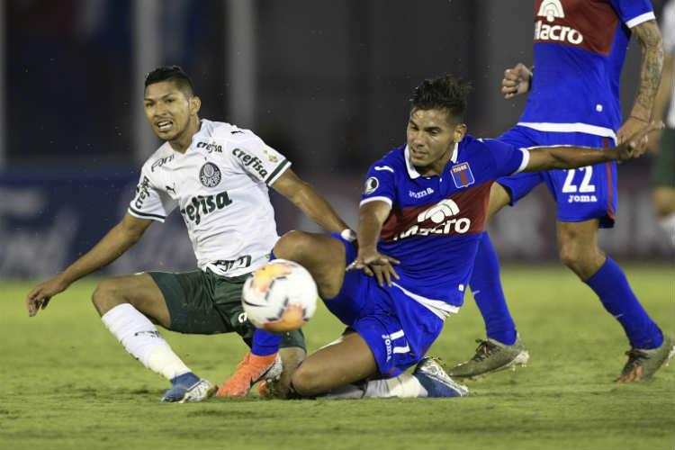 Tigre no pudo con la superioridad de Palmeiras