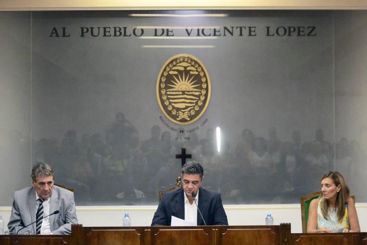 Jorge Macri encabezó la apertura de sesiones en el HCD de Vicente López