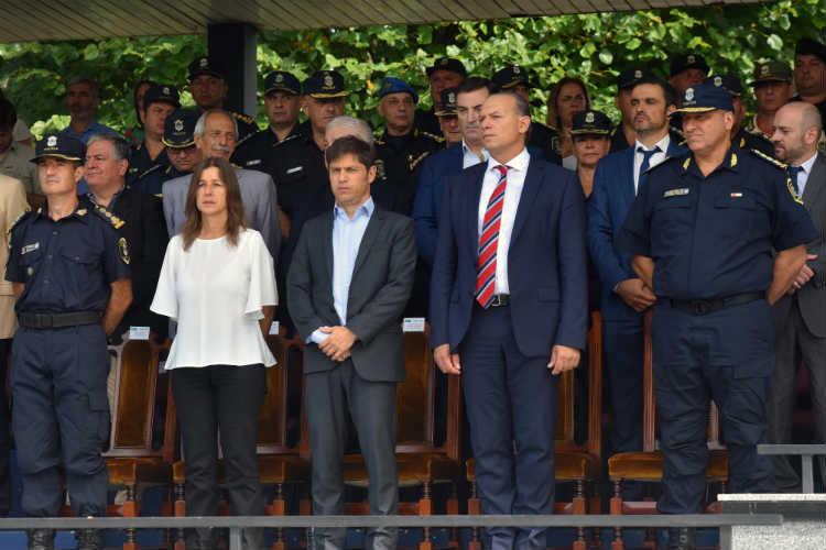 Berni presentó nuevas autoridades de la Policía provincial