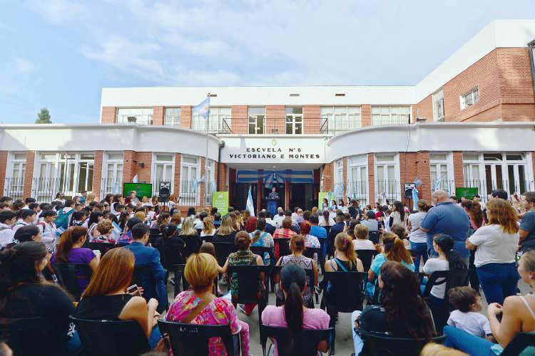 San Fernando inauguró el renovado edificio de la Primaria Nº 6 y Secundaria Nº 23