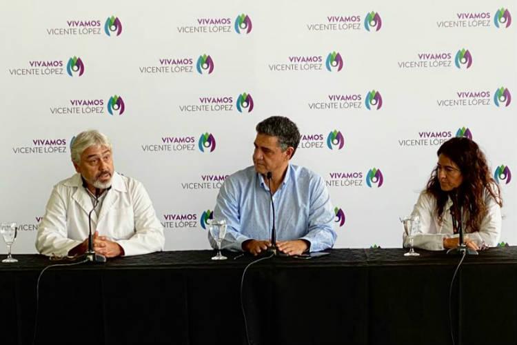 Coronavirus en Vicente López: Jorge Macri buscó llevar tranquilidad a los vecinos
