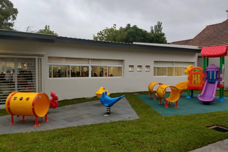 Juan Andreotti inauguró el nuevo Jardín Nº 909 de San Fernando