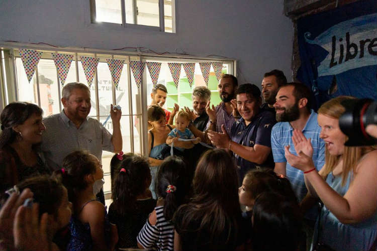 Se Inauguró el Centro Cultural Evita en barrio Las Flores de Florida Oeste