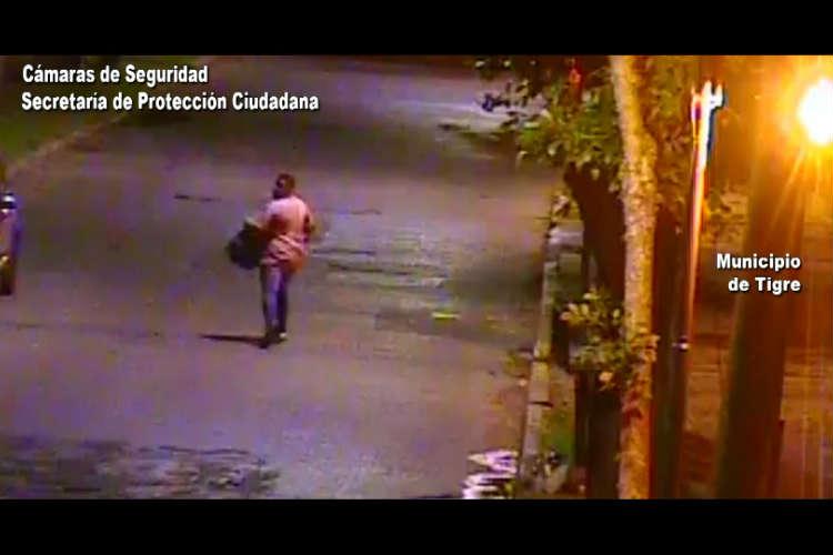 Asalto en Paseo Victorica en Tigre Centro robaron una mochila.