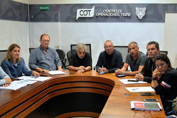El Municipio de Tigre refuerza las medidas preventivas por el coronavirus