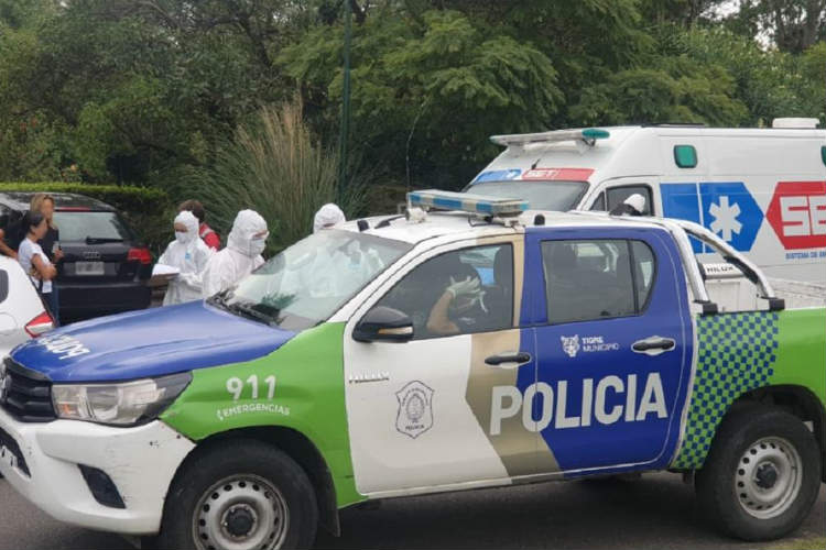 Tigre: ante una denuncia por incumplimiento de cuarentena activó protocolo de seguridad