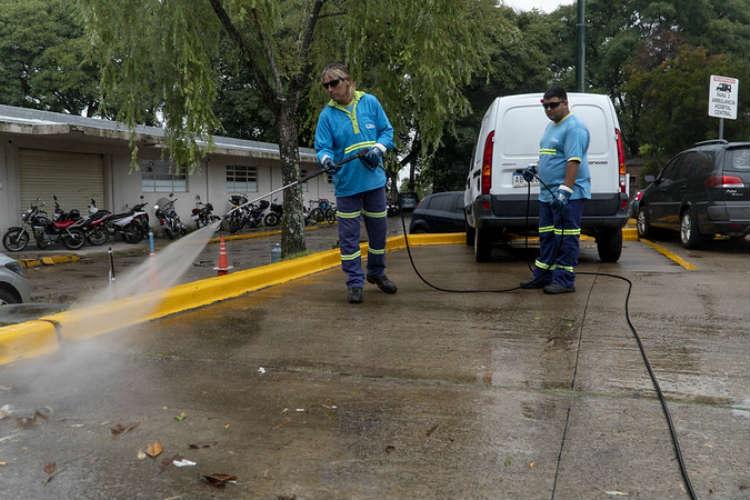 San Isidro implementó una nueva medida de higiene en hospitales y centros de salud