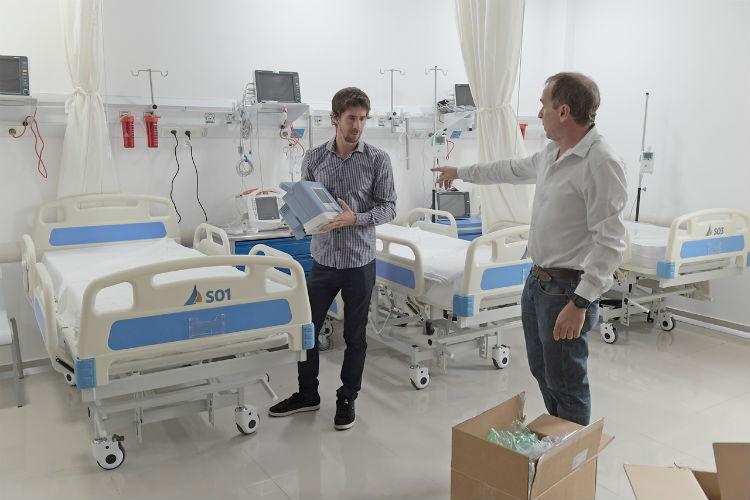 San Fernando crea una nueva sala de Terapia Intensiva exclusiva para coronavirus