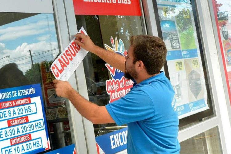 Tigre sancionó a supermercados que no cumplen con las medidas preventivas por el coronavirus