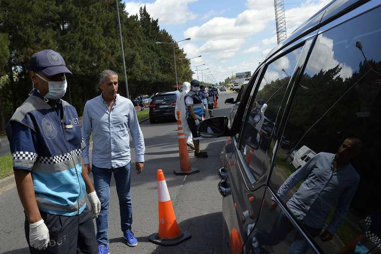 Tigre despliega operativos vehiculares para prevenir el coronavirus