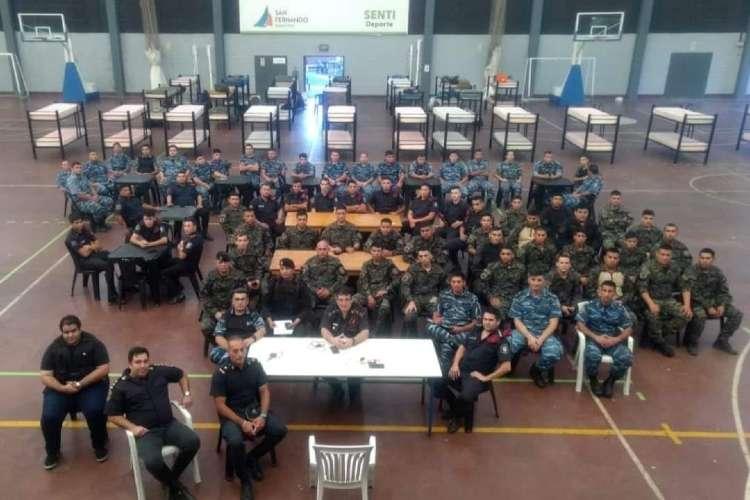 San Fernando: Suman Refuerzos Policiales para hacer cumplir la cuarentena