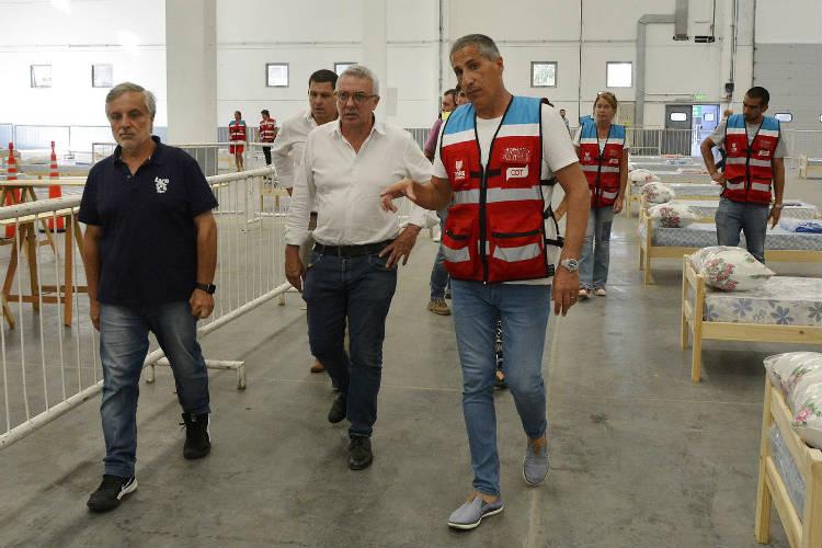 """Julio Zamora: """"Tigre tendrá un hospital especializado en coronavirus y un centro de aislamiento con 500 camas"""""""