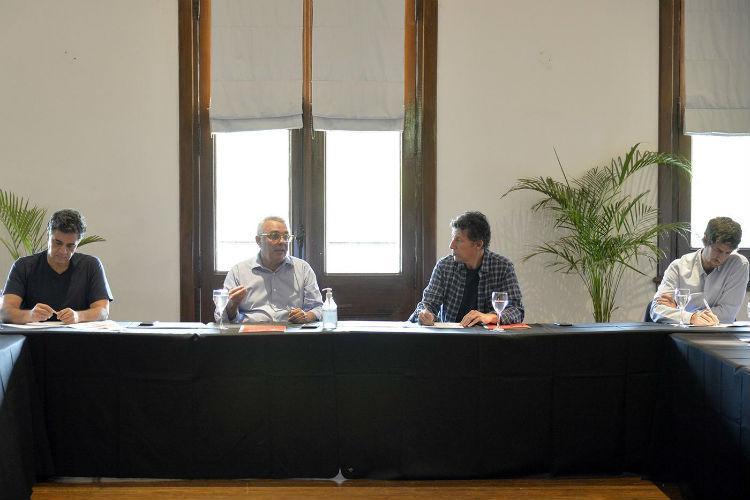 Intendentes de la Región Metropolitana Norte se reunieron en Tigre por el coronavirus