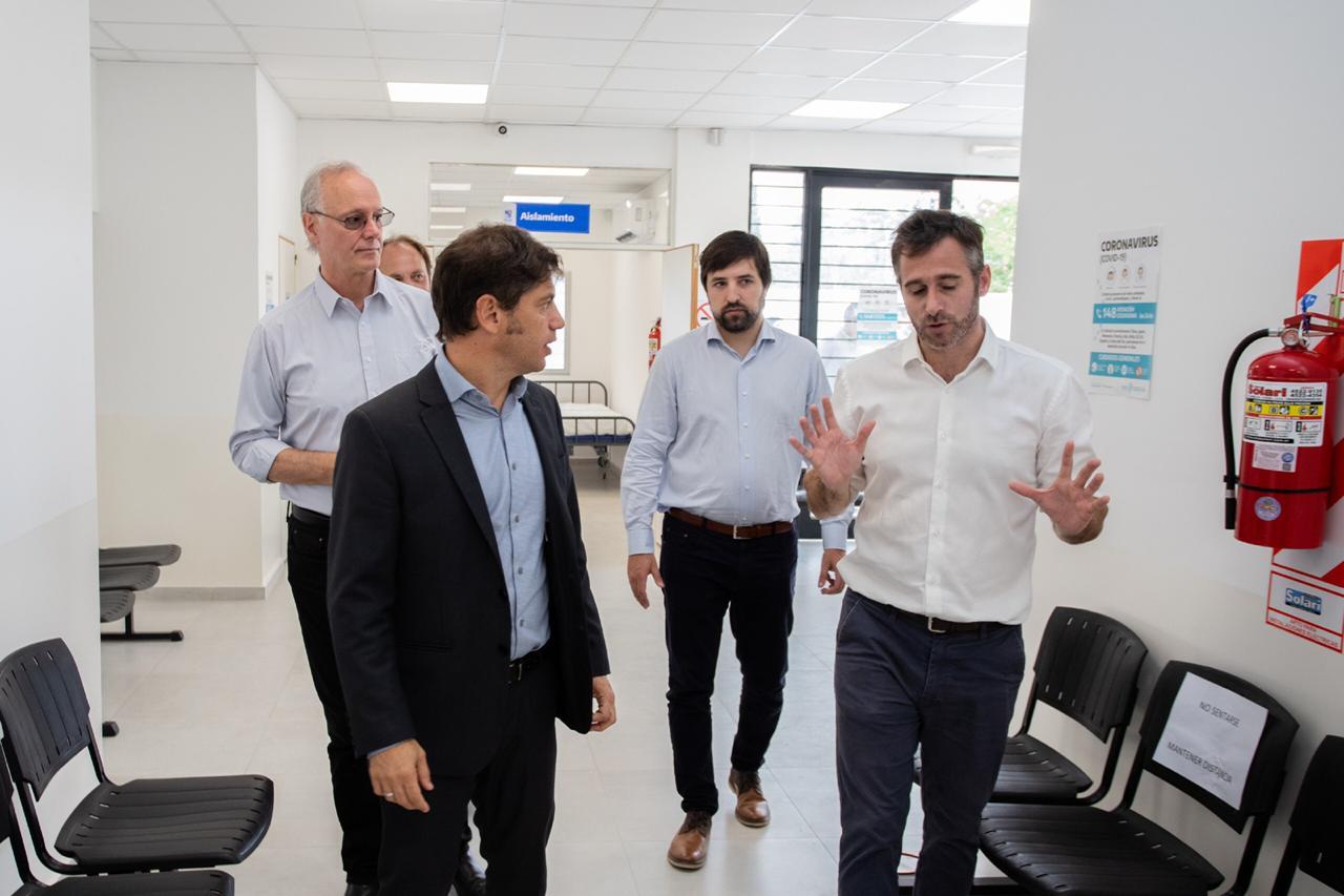 """Kicillof y Achaval inauguraron el centro de diagnóstico """"Tratado del Pilar"""""""