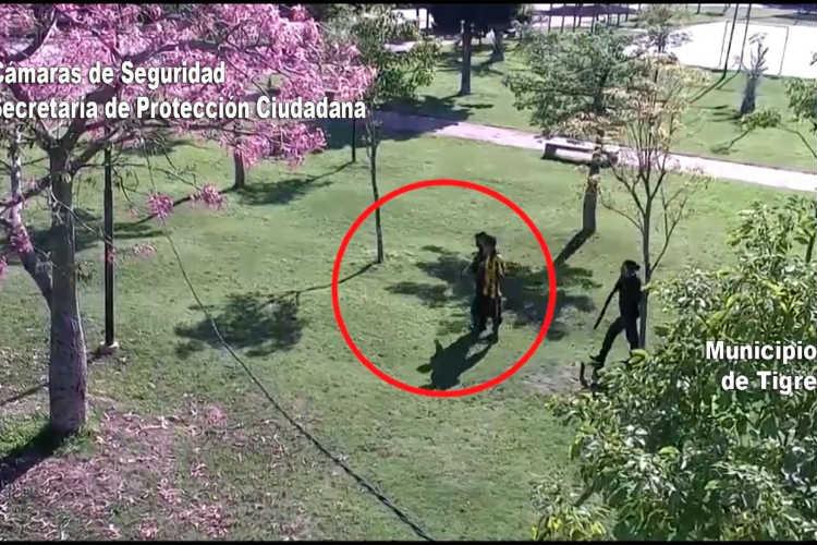 Por las Cámaras de Tigre detienen a tres hombres que  violaban el aislamiento social