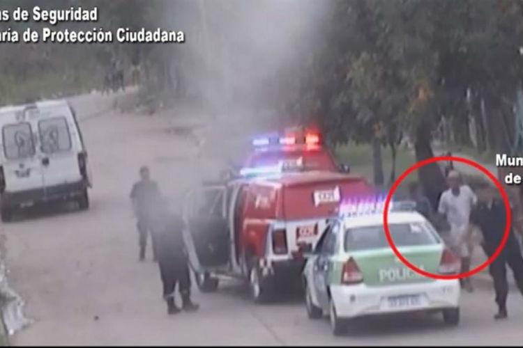 Don Torcuato: Las cámaras de Tigre filmaron a dos sujetos incumpliendo la cuarentena social y obligatoria