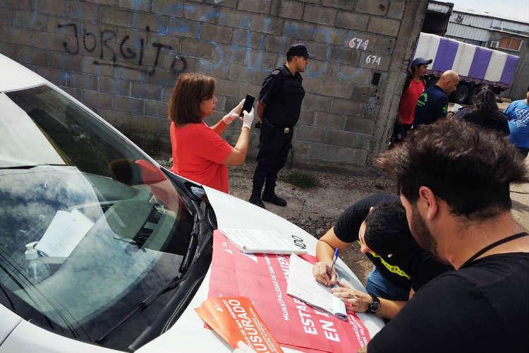 En San Fernando clausuran un aserradero que violaba la cuarentena obligatoria