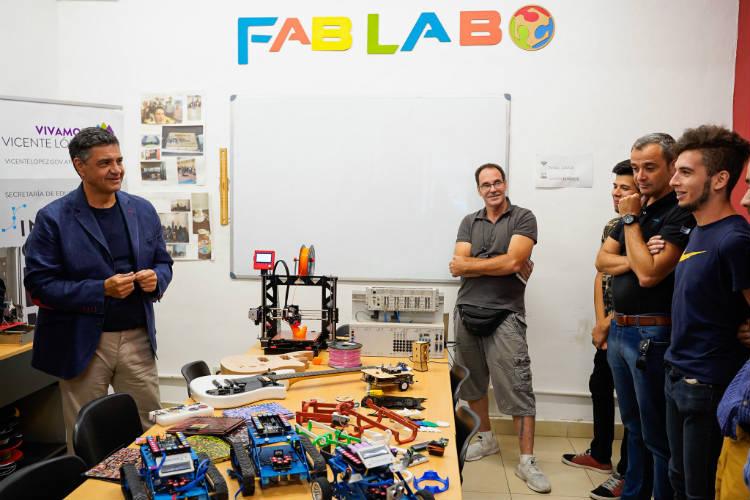 El Laboratorio de Fabricación Digital de Vicente López desarrolla mascarillas para trabajadores de la salud