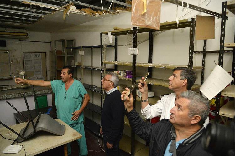 Julio Zamora realizó una nueva recorrida por el Hospital Provincial de General Pacheco