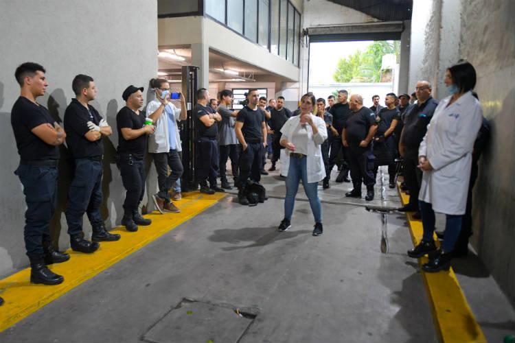 San Fernando brinda asistencia psicológica a los agentes de seguridad y Protección Ciudadana