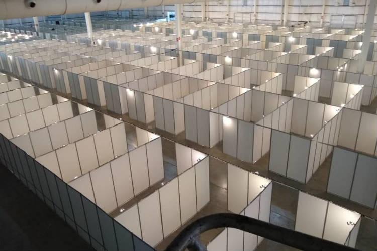 Tecnópolis se convierte en una unidad sanitaria con 2500 camas