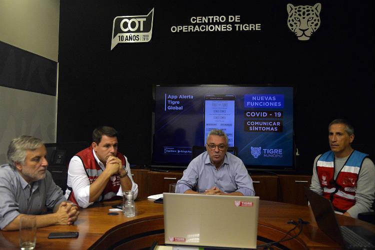 LA APP Alerta Tigre Global incorporó una nueva opción para consultas sobre coronavirus